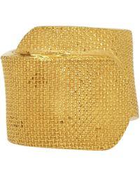 Ambush - Gold Band Aid Ring - Lyst