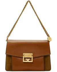 Givenchy - Brown Small Gv3 Bag - Lyst