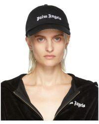 Palm Angels - Black Classic Logo Cap - Lyst