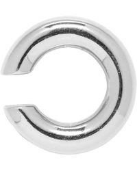 Saskia Diez - Silver No. 2 Bold Ear Cuff - Lyst
