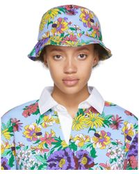 Noah - Multicolour Floral Rugby Bucket Hat - Lyst