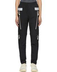 adidas Originals - Black Drop Tapered Wind Lounge Pants - Lyst