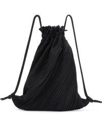 Pleats Please Issey Miyake - Black September Backpack - Lyst