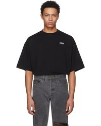 Vetements - Black Staff Reflector T-shirt - Lyst
