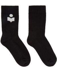 Isabel Marant - Black Visby Socks - Lyst