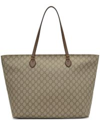 Gucci - Brown Ophidia Tote - Lyst