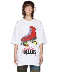 Undercover - White Acid Rollers T-shirt - Lyst