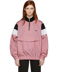 Ambush - Pink Track Shirt Jacket - Lyst