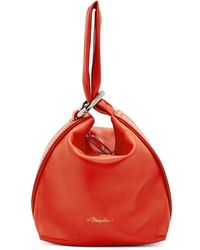 3.1 Phillip Lim - Red Ines Soft Triangle Pouch - Lyst