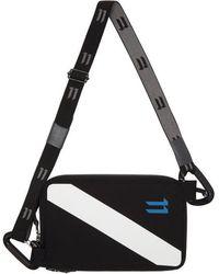 Boris Bidjan Saberi 11 - Black Diagonal Logo Wallet - Lyst