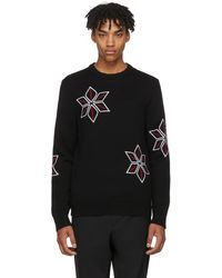 Rag & Bone - Black Snowflake Sweater - Lyst