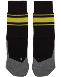 District Vision - Black And Yellow Falke Edition Sindo Socks - Lyst