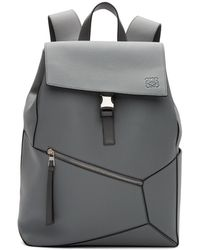 Loewe Grey Puzzle Backpack - Gray