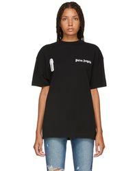 Palm Angels - Black New Basic T-shirt - Lyst