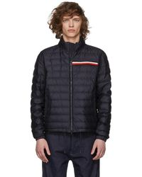 Moncler - Navy Down Edgar Jacket - Lyst
