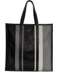 Balenciaga - Black And Grey Medium Bazar Shopper Tote - Lyst