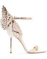 Sophia Webster - White Evangeline Sandals - Lyst