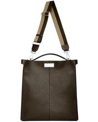 Fendi - Brown Peekaboo X-lite Fit Briefcase - Lyst