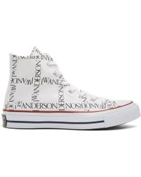 JW Anderson - White Converse Edition Grid Chuck Taylor All Star 70 High-top Trainers - Lyst