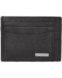 BOSS - Black Structured Card Holder - Lyst