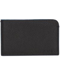 Neil Barrett - Black And Blue Flat Card Holder - Lyst