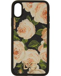 Dolce & Gabbana - Multicolour Flowers Iphone X Case - Lyst