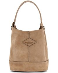 Rag & Bone - Pink Suede Mini Camden Bag - Lyst