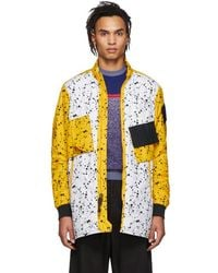 777b6a4cf Nike - White And Yellow Errolson Hugh Edition Acg Insulated Coat - Lyst