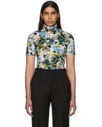 Erdem - Multicolor Floral Sallie Turtleneck - Lyst