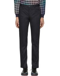 PS by Paul Smith | Navy Slim Stay Sharp Trousers | Lyst