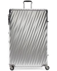 Tumi - Silver Aluminium Worldwide Trip Packing Suitcase - Lyst