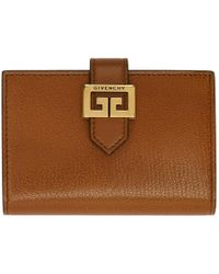 Givenchy - Tan Gv3 Card Holder - Lyst