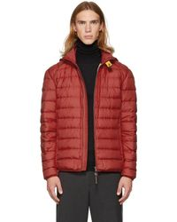 Parajumpers - Red Super Lightweight Last Minute Jacket - Lyst