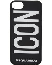 DSquared² - Black Icon Iphone 7 Case - Lyst