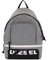 DIESEL - Grey F-scuba Backpack - Lyst