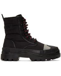 DIESEL - Black D-vaiont Dbb Boots - Lyst