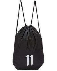 Boris Bidjan Saberi 11 - Ssense Exclusive Black Drawstring Bag - Lyst