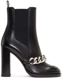 Givenchy - Black Chain Chelsea Boots - Lyst