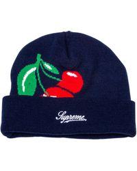 Supreme - Cherries Beanie - Lyst