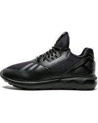 Lyst - Adidas Tubular Runner in Black for Men 9dee45afb