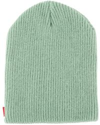 fbe77b1a9 Supreme Heather Loose Gauge Beanie Heather Maroon in Red for Men - Lyst