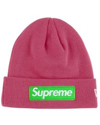 cd7c7b829 SUPREME FW 2017 GONZ RAMM BEANIE GREY HAT BOX LOGO