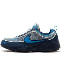 9c05fadc1ab2 Nike - Air Zoom Spiridon  16 stash Harbor Blue heritage Cyan - Lyst
