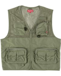 Supreme - Mesh Cargo Vest - Lyst