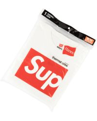Supreme - Hanes Thermal Crew T-shirt - Lyst