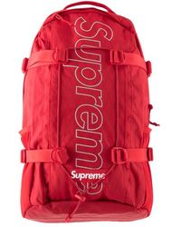 9e8d182c176 Supreme Louis Vuitton X Christopher Backpack Epi Pm Red in Red for Men -  Lyst