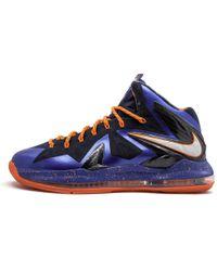 on sale fd4d2 46a59 Nike - Lebron 10 P.s Elite Hyper Blue pure Platinum  superhero  - Lyst