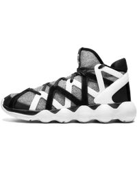 7130ef8093b6c Lyst - Y-3 Black white Kyujo Low Trainers in White for Men