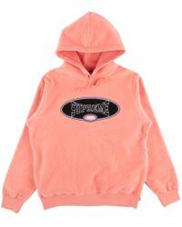 Supreme - Reverse Fleece Hooded Sweatshi - Lyst