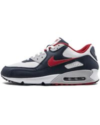 low priced 0c9d0 a26e6 Nike - Air Max 90 Obsidian spirit Red - Lyst